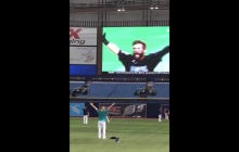 Pretty Cool Moment: Taylor Motter Of The Rays Watching His Alma Mater Win The College World Series
