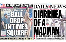 If This Is Going To Be The Summer Of Weirdos, The New York Newspaper Headline Writers Are Ready