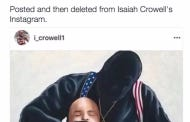 Browns RB Isaiah Crowell Chimes In With His Stance On Racial Tension In America, Instagrams Picture of Cop Getting His Throat Slit