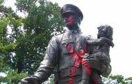 Memorial Honoring Fallen Police Officers Vandalized In Richmond, Virginia