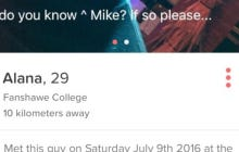 Is This Tinder Girl Searching For A Dude She'd Previously Met True Love Or The Weirdest Move Ever?
