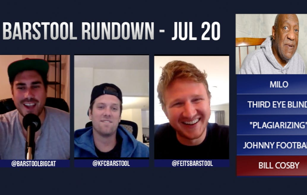 Barstool Rundown July 20th, 2016