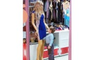 This Little Boy In Russia Got A Little Handsy With A Store Mannequin