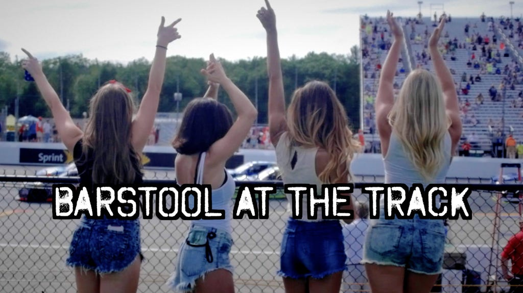 Barstool At New Hampshire Motor Speedway