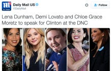 Lena Dunham To Speak At The Democratic National Convention