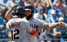 Indians Show Why They're The Top Team In The American Leauge After Hitting Five Home Runs Off The Royals