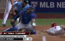 Trea Turner, The Fastest Man Alive, Tripled Down The Left Field Line And Then Stole Home