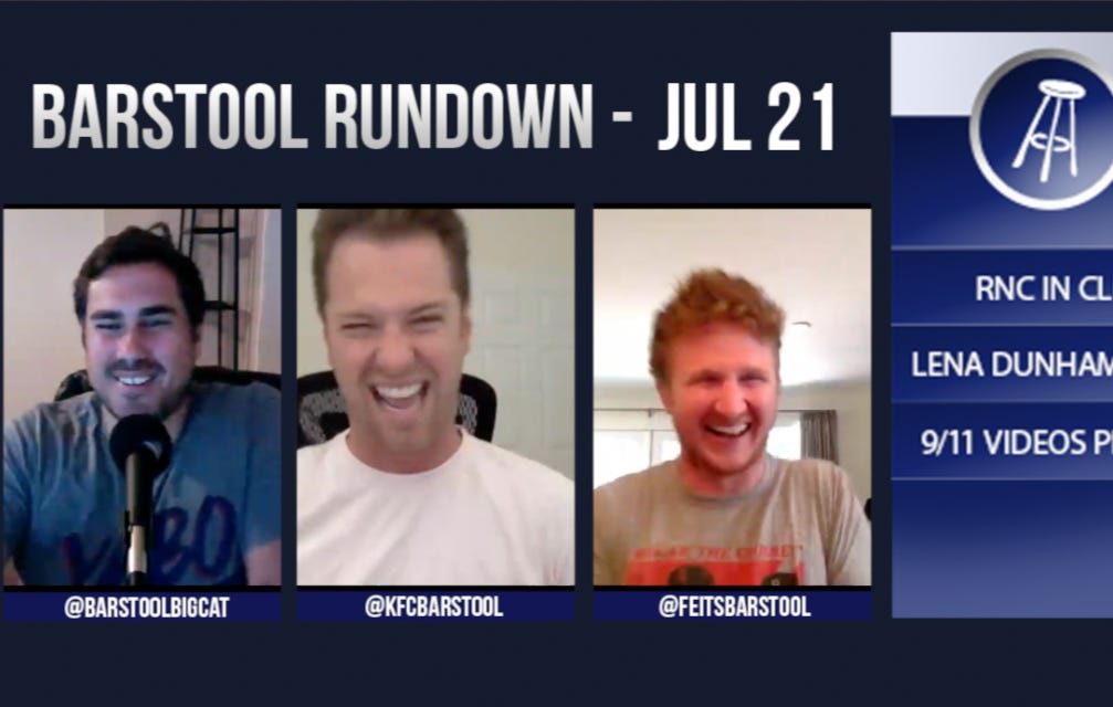 Barstool Rundown July 21, 2016