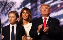 A New Star Was Born In Barron Trump Last Night