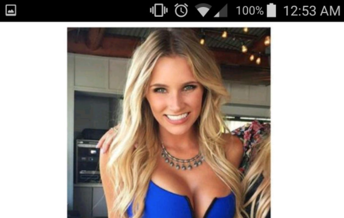 This Unbelievably Hot Tinder Girl Is A Good Reminder Of Why You Should Look At Everything Before Swiping