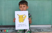 Syrian Kids Holding Pokemon Signs And Hoping To Get Found Is The Saddest Shit I've Ever Seen