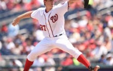 Strasburg Drops His First Game in Loss to the Dodgers