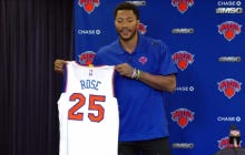 Derrick Rose Said That The Knicks Are Viewed As A Super Team