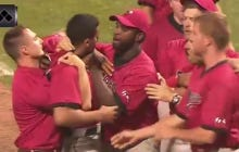 I've Never Seen Anyone As Fired Up As This Baseball Player Who Sprinted To The Other Dugout To Start A Fight