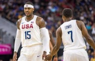 Team USA Dominates Argentina in First Exhibition Game