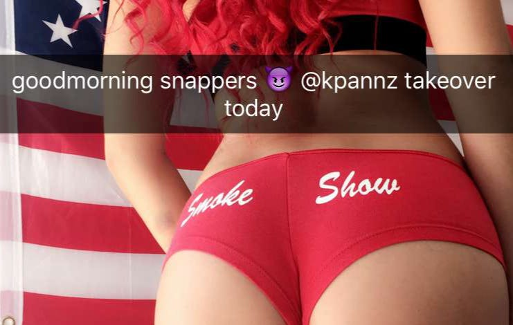 Smokeshowsnaps Is On Fire Today
