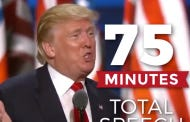 This Donald Trump Ad That Shows How Much Applause He Got During His Convention Speech Is Fake Life Stuff