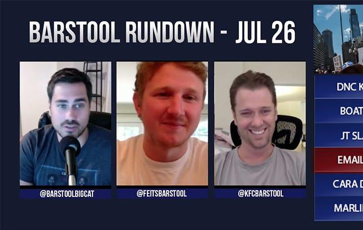 Barstool Rundown – July 26, 2016