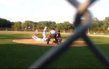 A High School Baseball Player Stole Home By Sliding Through His Teammate's Legs