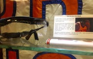 """Knicks Fans Can Rest Easy Knowing That Amare Stoudemire's Goggles Are In The Knicks """"Historic"""" Trophy Case"""