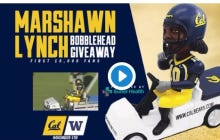 """Cal With The Best Giveaway Ever…The Marshawn """"Ghost Ride The Whip"""" Bobblehead"""