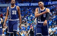 """Kevin Durant Allegedly Told Russ Westbrook """"Not To Worry"""" And That He's Definitely Coming Back To OKC 3 Weeks Before He Signed With Golden State"""