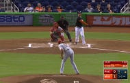 Giancarlo Stanton Hit One Of Those Home Runs That Was Hit So Hard It's Almost Funny
