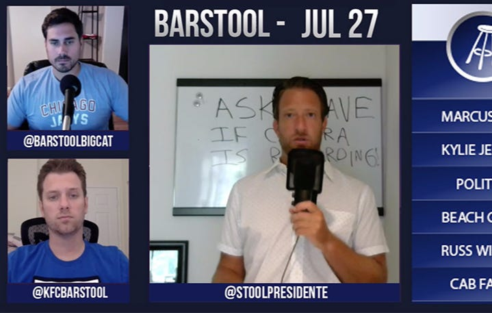 Barstool Rundown – July 27, 2016