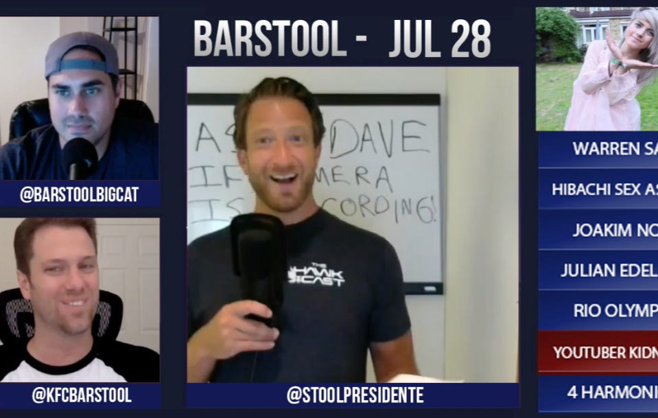 Barstool Rundown July 28, 2016
