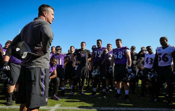 Football is BACK – The Ravens Kicked Off Training Camp With Their First Practice This Morning