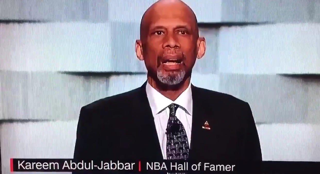Kareem Abdul-Jabbar Just Dunked Donald Trump Through The Earth's Core