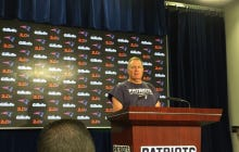 """Reporter Asks Belichick If There Is Any Chance Garrapalo Will Be The Starter In Week 5…..Belichick Mutters """"Jesus Christ"""""""
