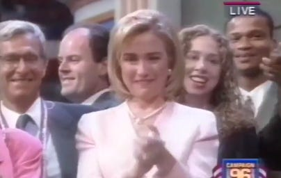 The 1996 DNC Looks Like It Was The Sweetest Party Ever