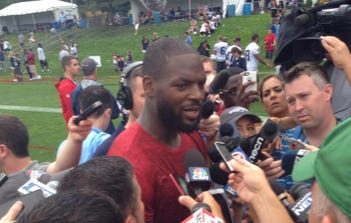 Martellus Bennett Gave An A+ Quote When Asked About Having Chemistry With Two Quarterbacks