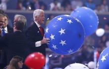 Bill Clinton LOVES Balloons