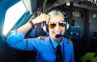 Hot Ryanair Pilot Takes Instagram Cockpit Selfies and Bikini Pics Around The World To Empower Women