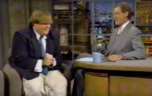 Chris Farley's First Appearance On Letterman Takes Us Into The Weekend