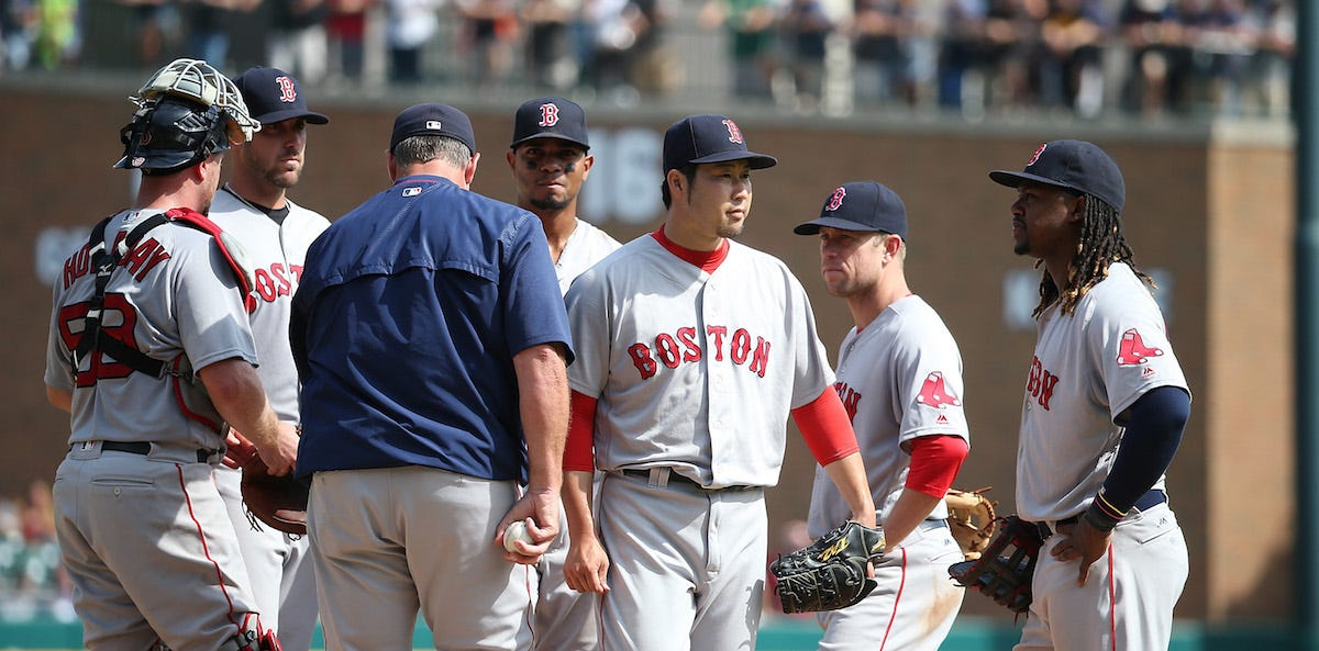 Red sox 6 game winning streak ends because john farrell is an idiot boston red sox v detroit tigers malvernweather Gallery
