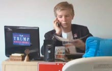 This Little 12 Year Old Working For Trump's Campaign Is One Bad Motherfucker