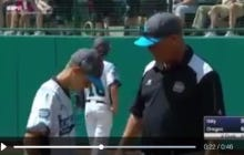 Little League World Series Coach Makes A Visit To The Mound Just To Tell His Son How Much He Loves Him