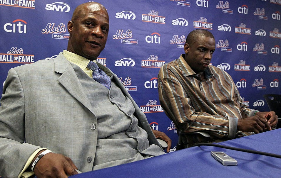 Dwight Gooden Fired Back At Darryl Strawberry's Claims That Gooden Is On Drugs By Saying Darryl Is Cheating On His Wife And Is Lucifer