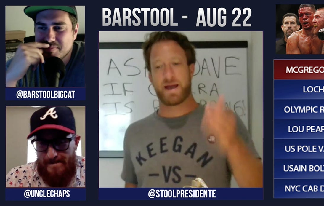 Barstool Rundown – August 22, 2016