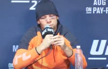 Nate Diaz Is Under Investigation By USADA After He Was Smoking Weed From A Vape Pen In His UFC Post Fight Press Conference
