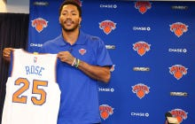 "People Are All Over Derrick Rose For Saying The Knicks ""Have A Chance To Win Every Game"" This Year"