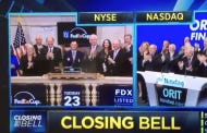 Patrick Reed Casully Smashes The NYSE Gavel To Pieces
