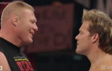 Chris Jericho Angrily Confronted Brock Lesnar After He Beat The Shit Out Of Randy Orton
