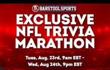 "FanClash Is Back! Play Versus The Bloggers In NFL Trivia And Get Free Entry To An Exclusive ""Barstool Trivia"" Contest Wednesday Night"