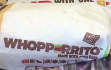 15 Second Food Review: The Whopperrito