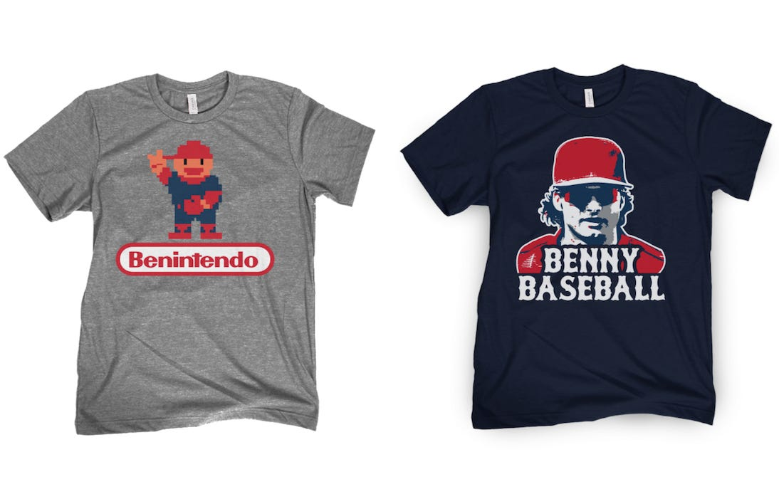 Andrew Benintendi Shirts Are Now On Sale