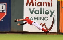 Wake Up With Billy Hamilton Covering 123 Feet To Make A Diving Catch
